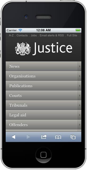 Homepage hub