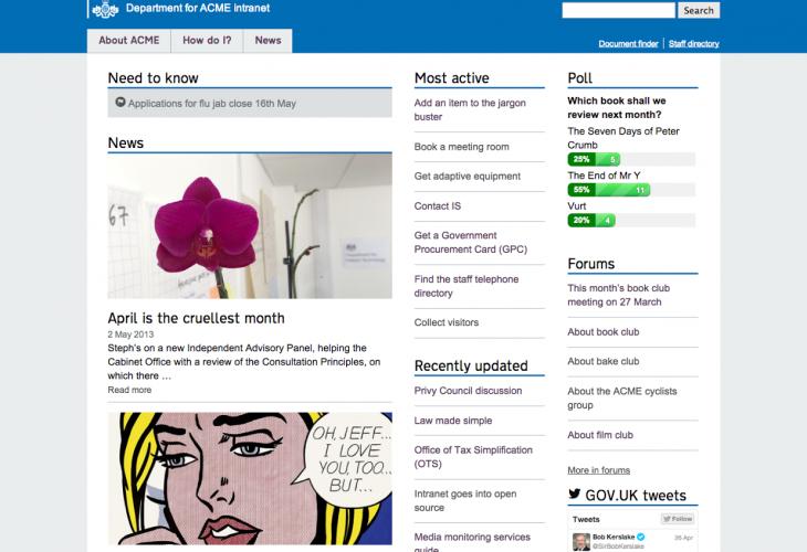 Intranet WordPress theme now on GitHub | Intranet Diary