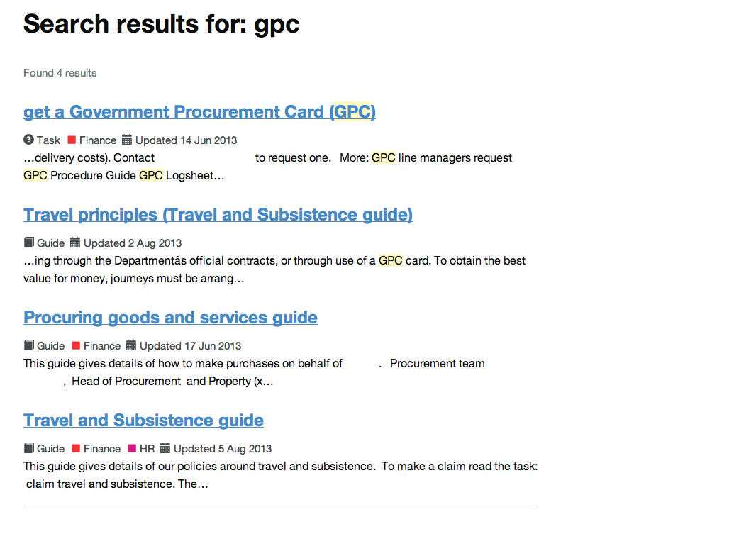 Intranet B: gpc