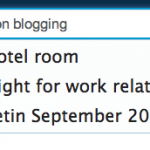 Guidelines on blogging